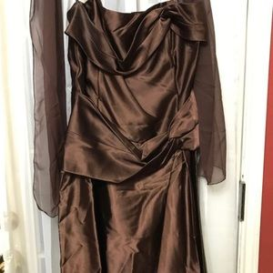 Dresses & Skirts - Brown bridesmaid dresses